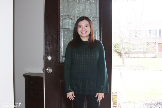 Pointelle Babydoll Sweater 10