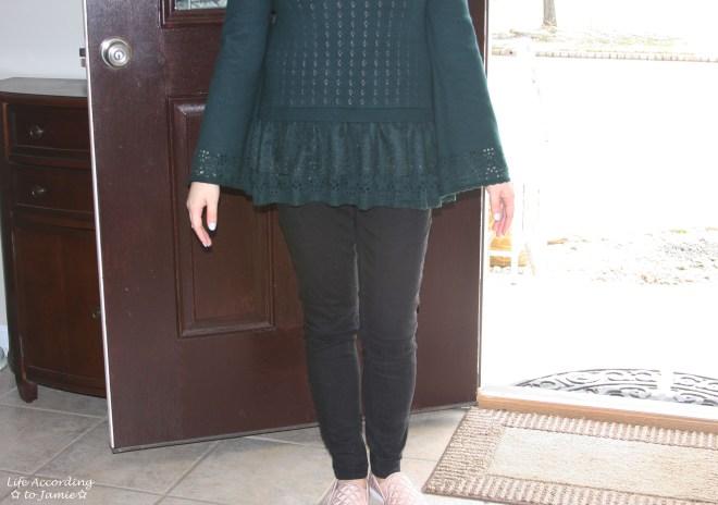 Pointelle Babydoll Sweater 5