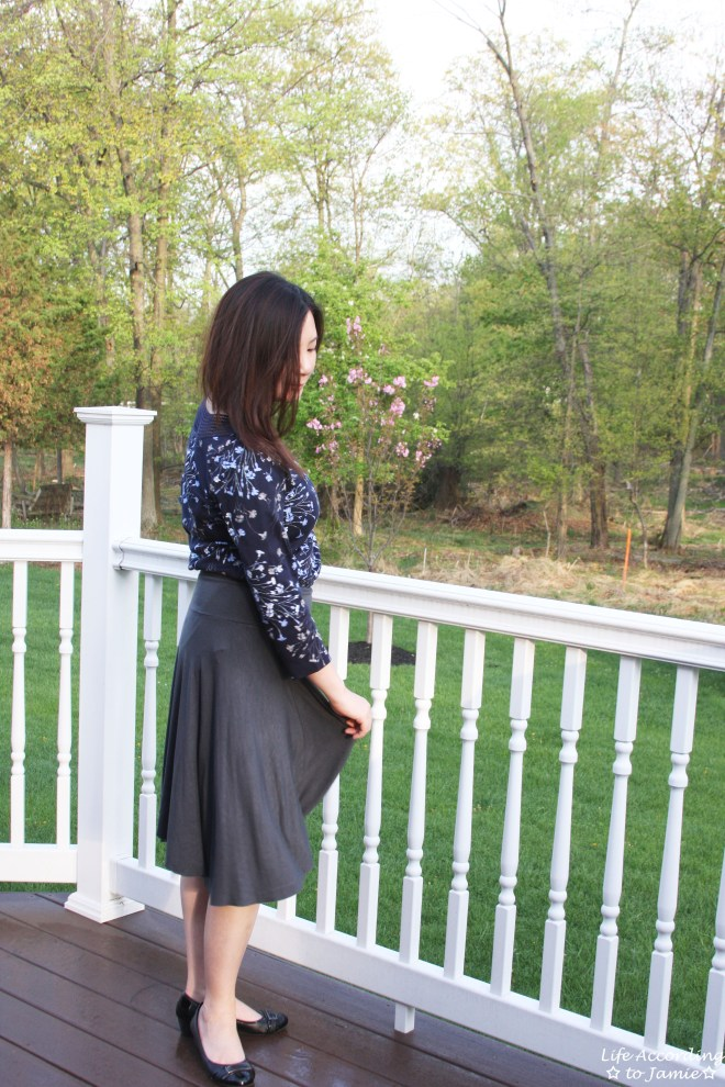 Crochet Topped Floral Top 6
