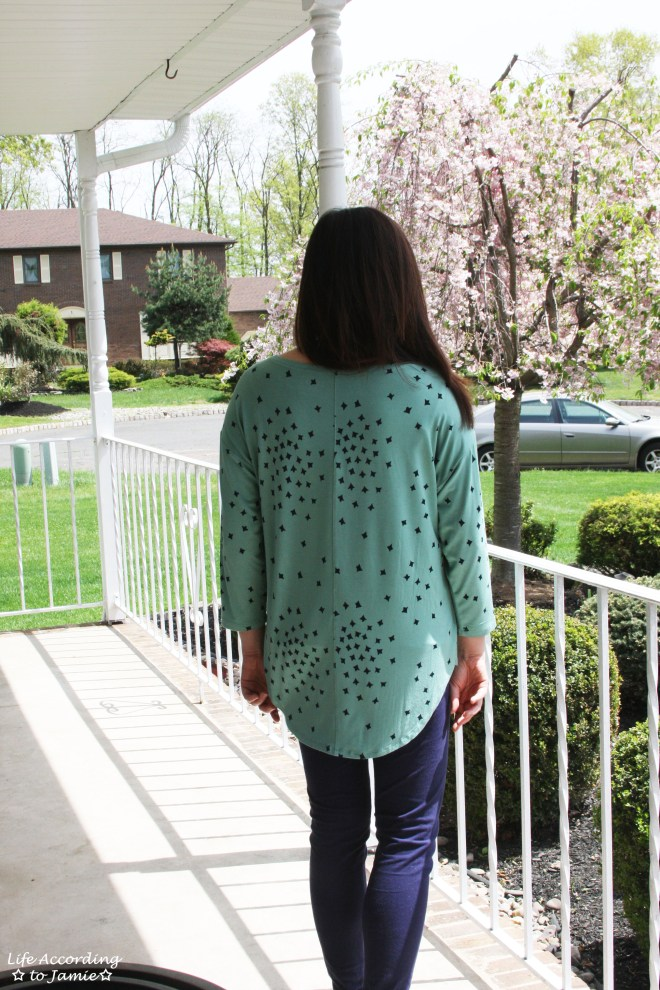 Green & Blue Circle Hem 3