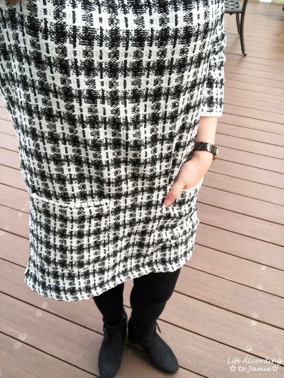 Houndstooth Dress 2