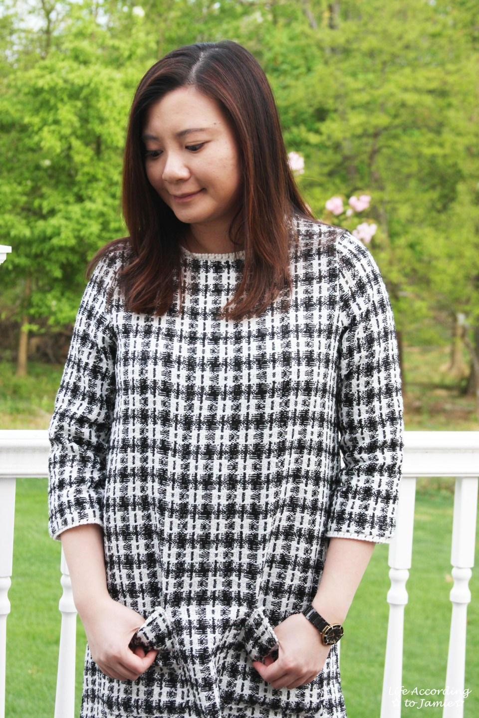 Houndstooth Dress 5