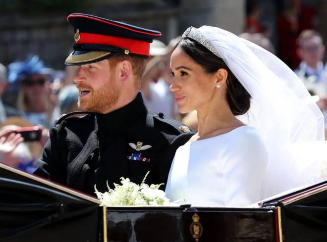 Prince Harry & Meghan Markle - Carriage Ride