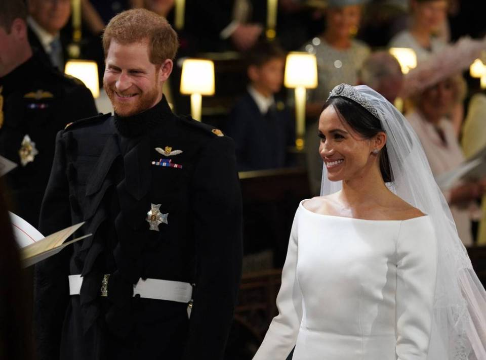 Prince Harry & Meghan Markle Wedding 1