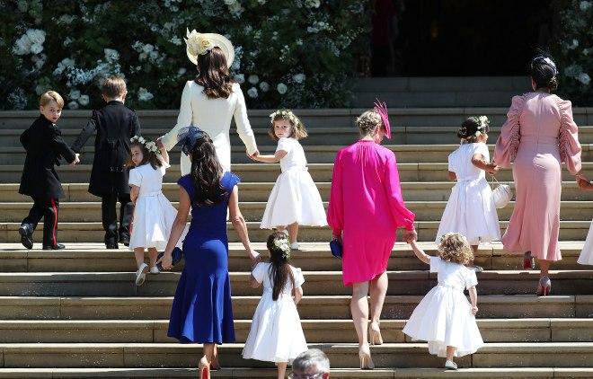 Prince Harry & Meghan Markle - Wedding Party 1