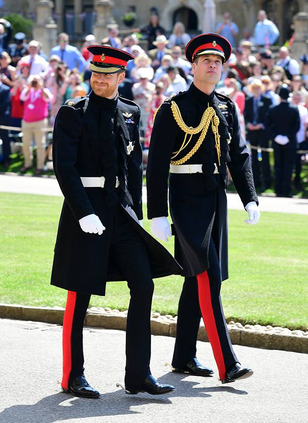 Prince Harry & Prince William - Wedding