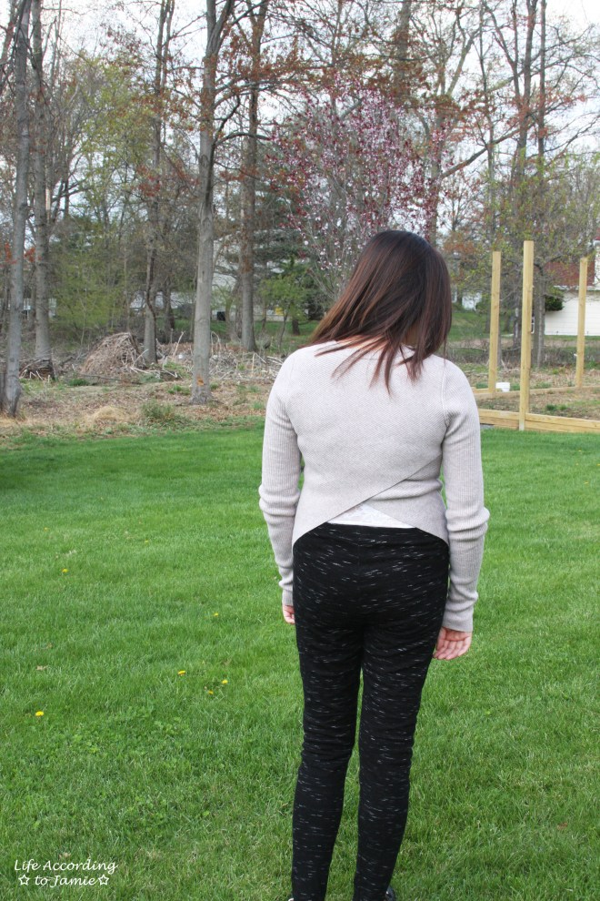 Tulip Back Sweater 5