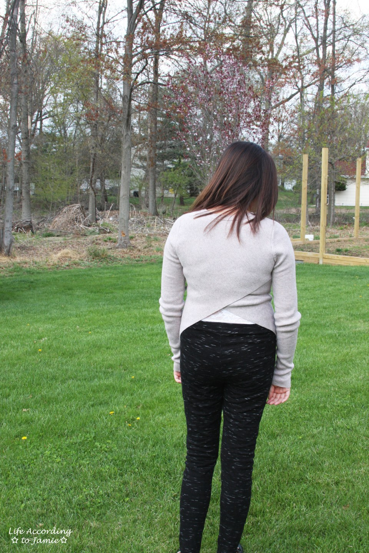 Tulip Back Sweater 5