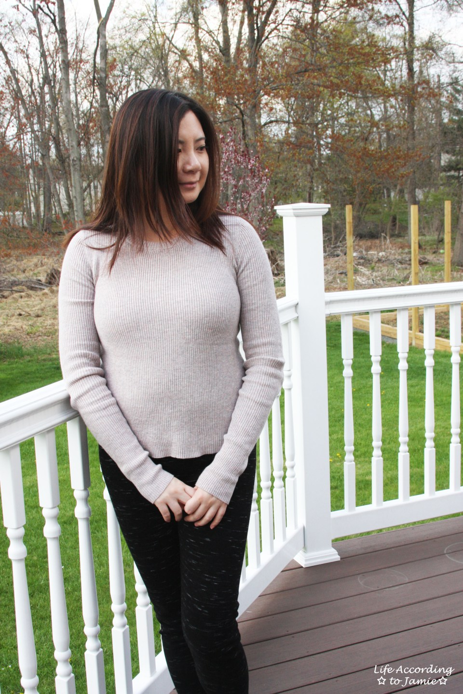 Tulip Back Sweater 7