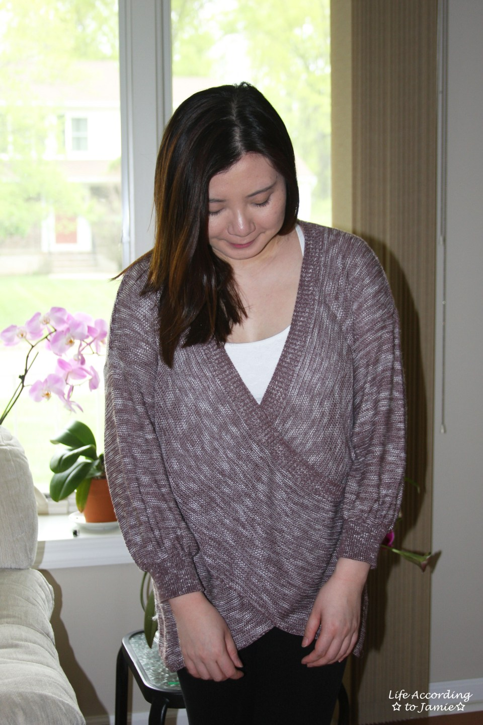 Wrap Front Sweater 7