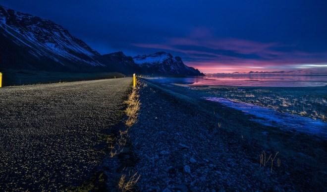 sunrise - iceland