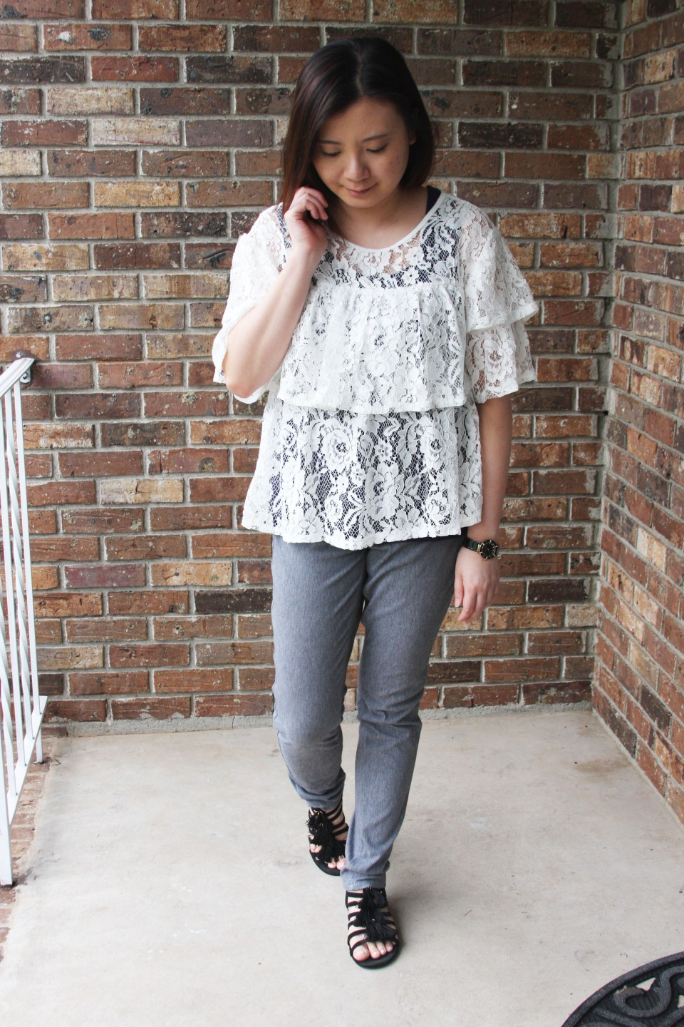 Lace Tiered Ruffles 6