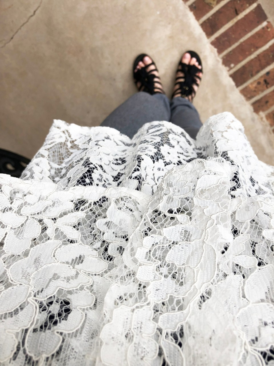 Lace Tiered Ruffles 9