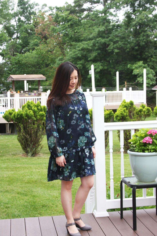 Winter Garden Flounce Dress 5