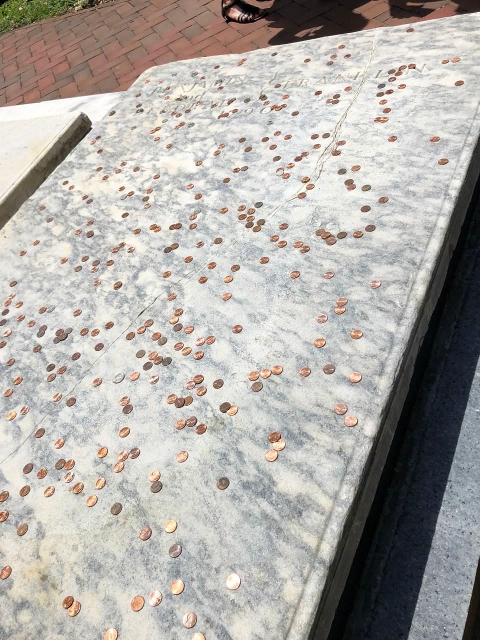 Benjamin Franklin's Grave