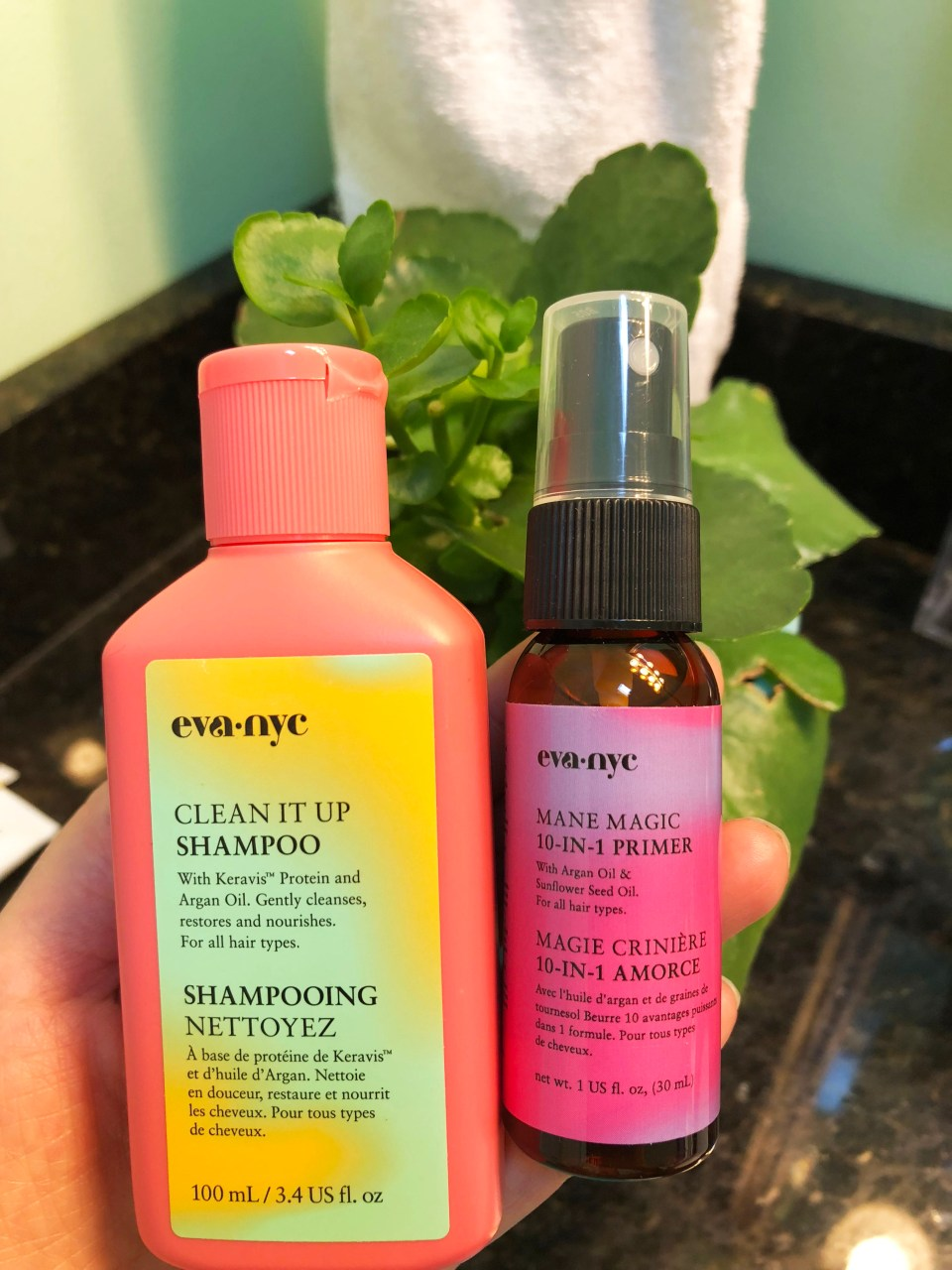 Eva NYC Clean It Up Shampoo & Mane Magic