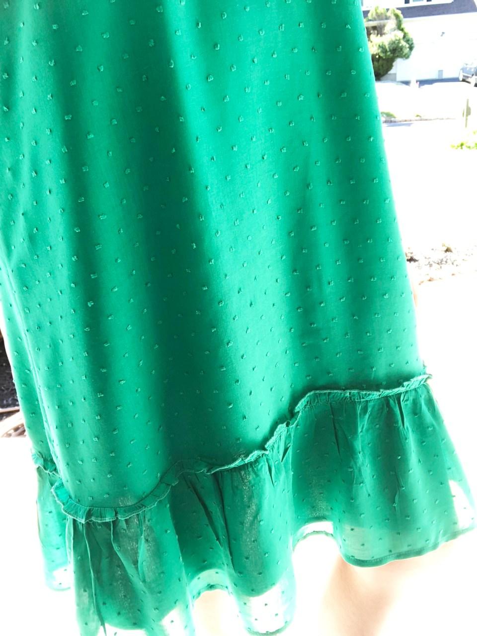 Mini Pompom Trim Dress 12