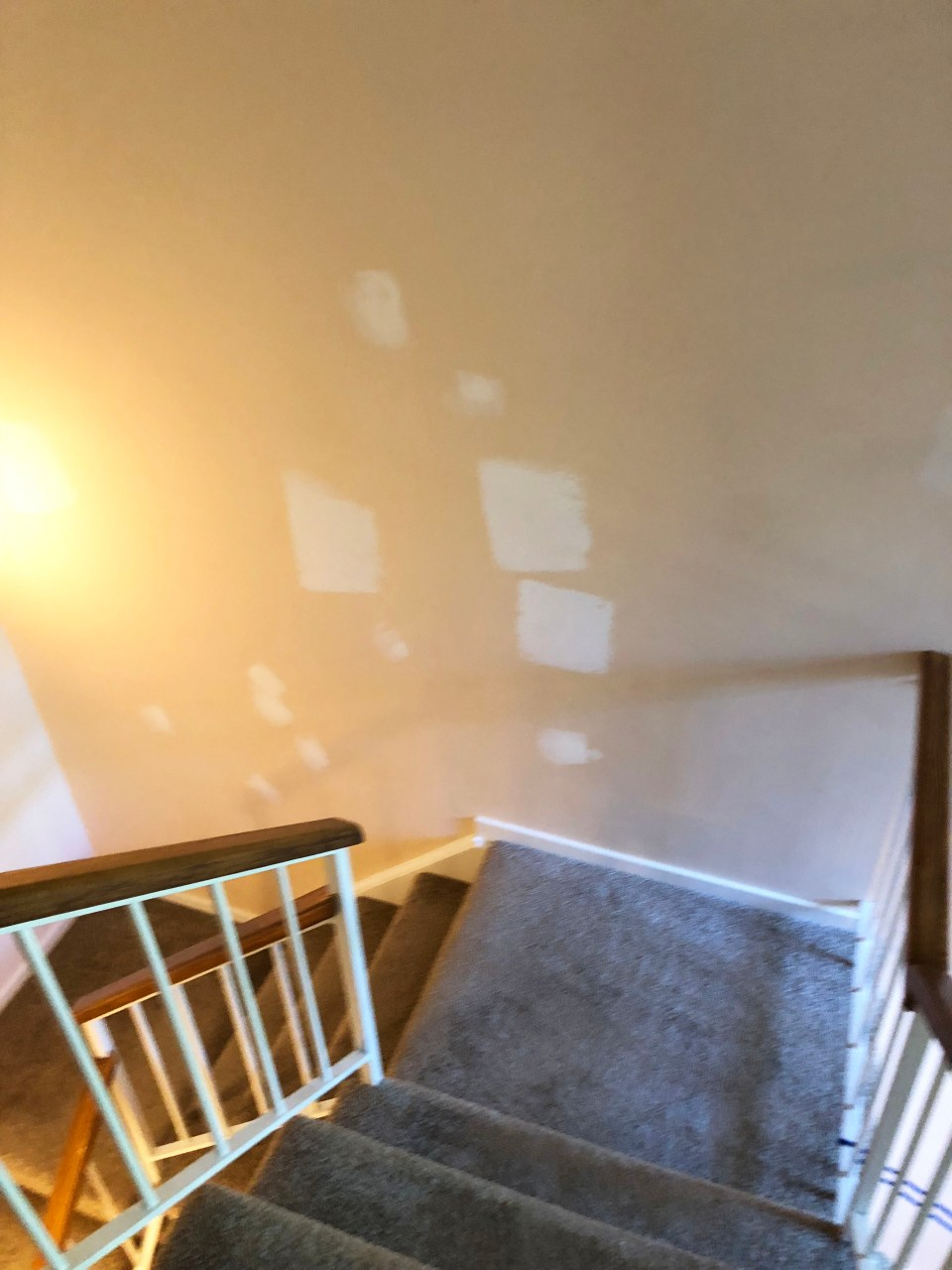 Painting townhouse interiors