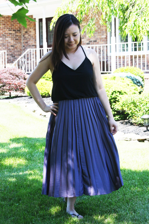 Pleated Duet Dress 8