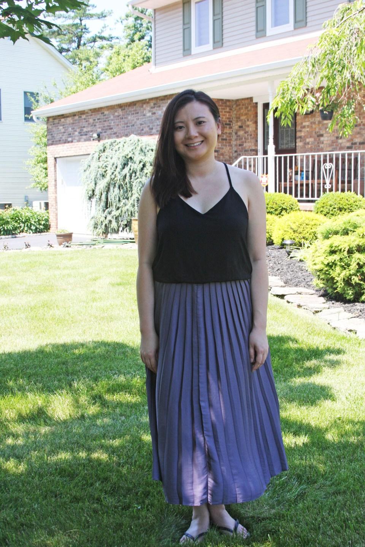 Pleated Duet Dress 9