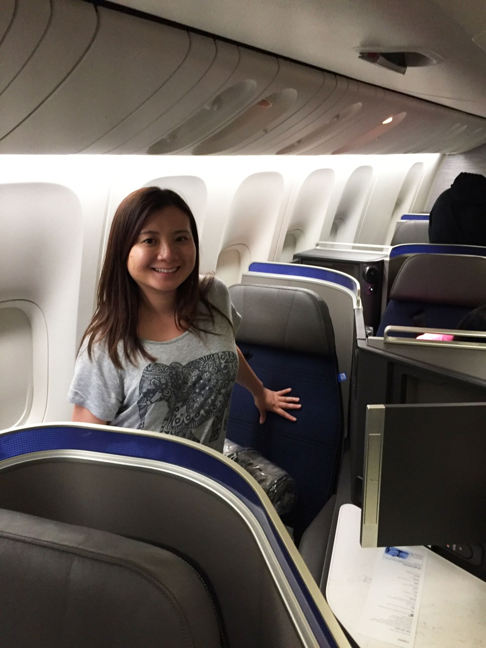 Business First seat