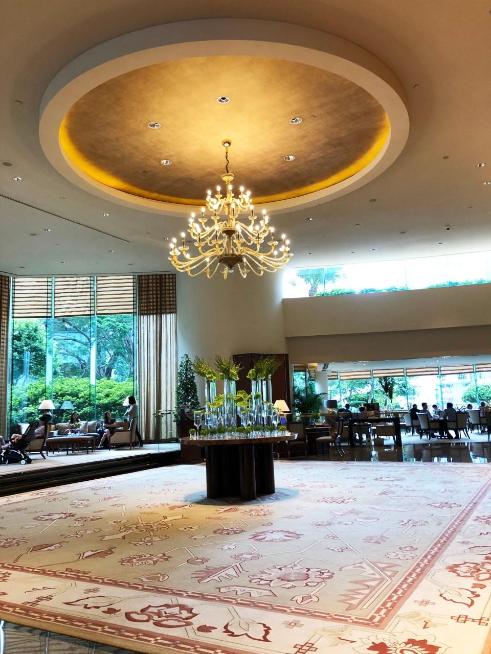 Conrad Hong Kong - lobby