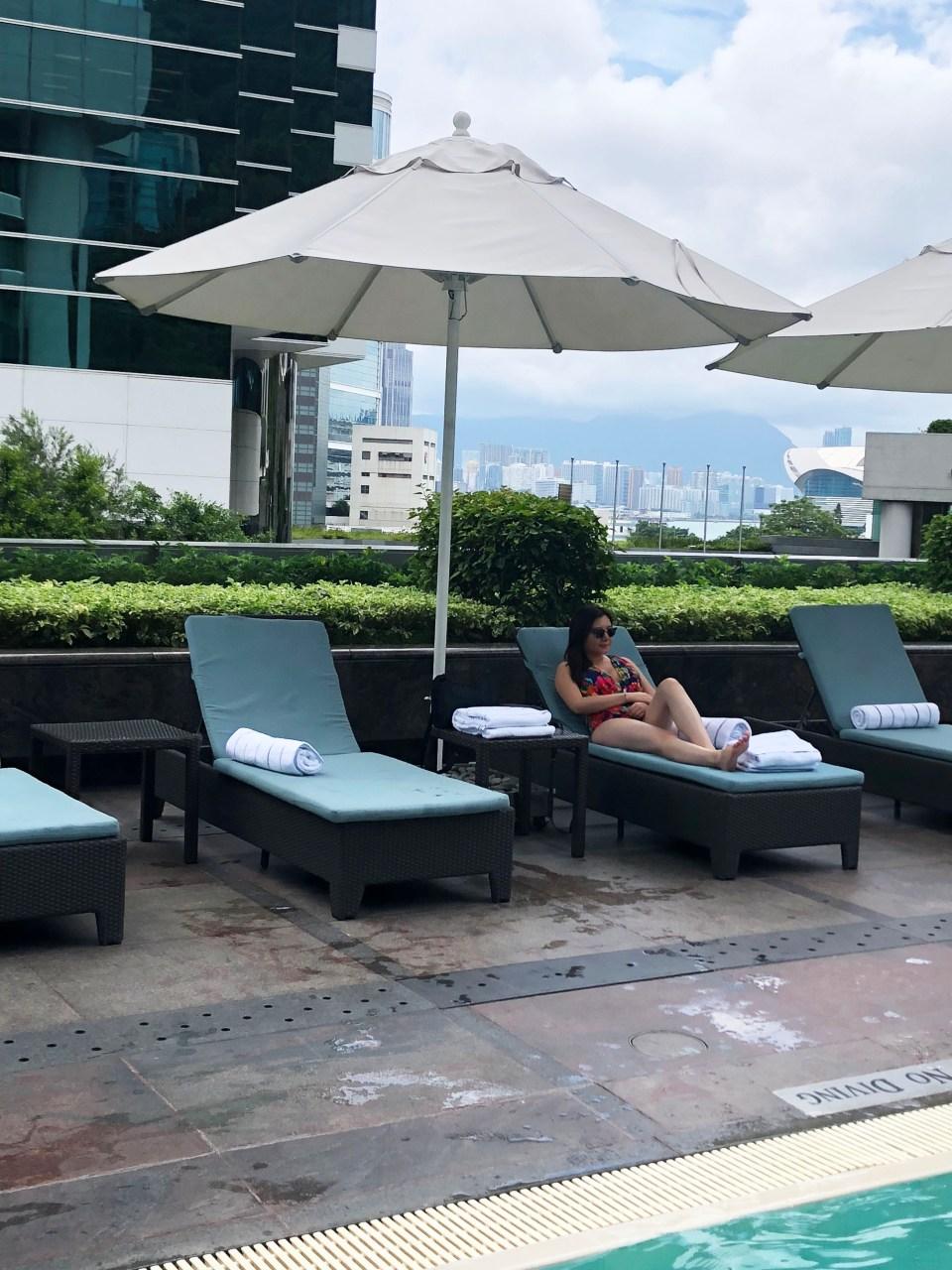 Conrad Hong Kong - pool