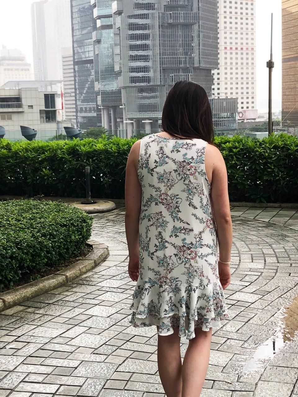 Floral Flounce Dress 2