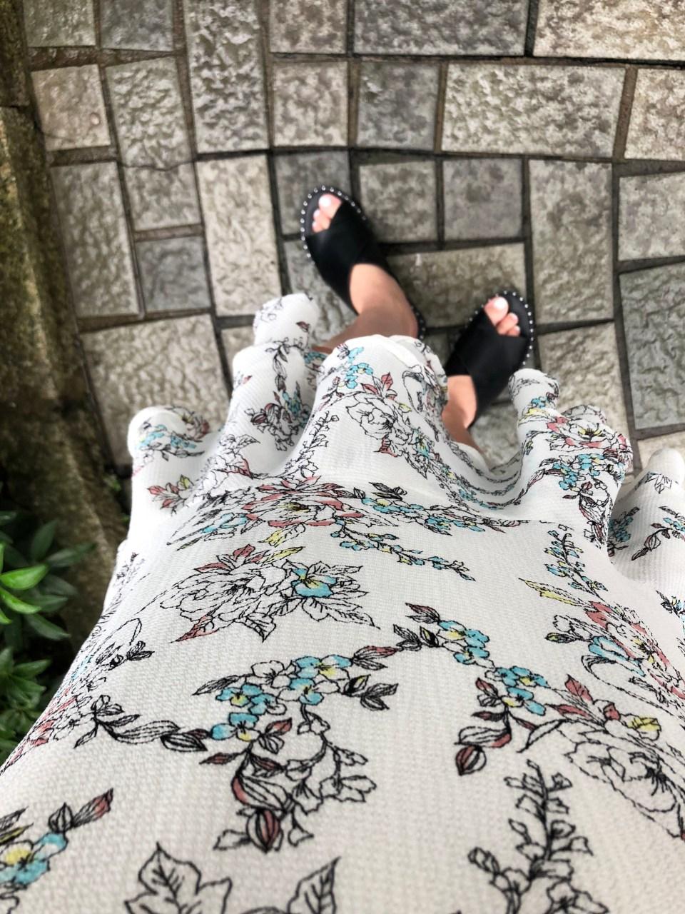 Floral Flounce Dress 4
