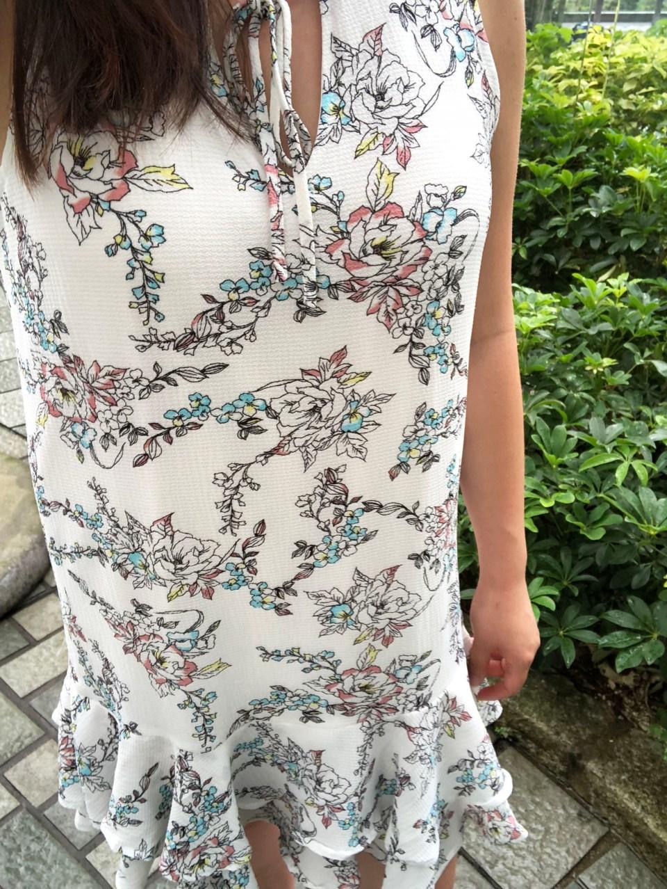 Floral Flounce Dress 5