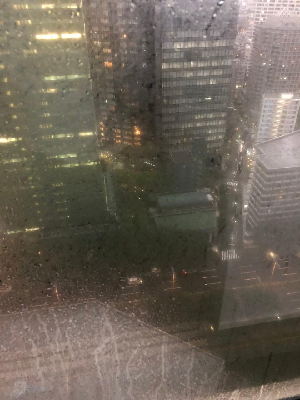 Hilton Tokyo - Typhoon Shanshan 1