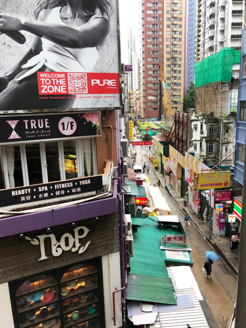 Hong Kong - Central Escalators 2