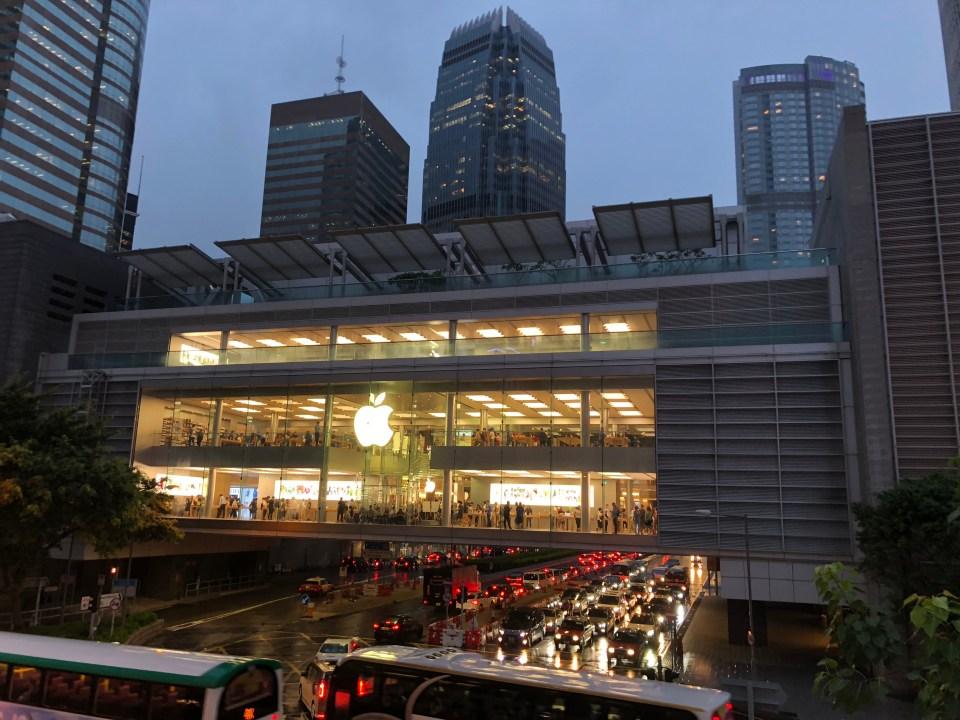 Hong Kong - IFC Apple Store