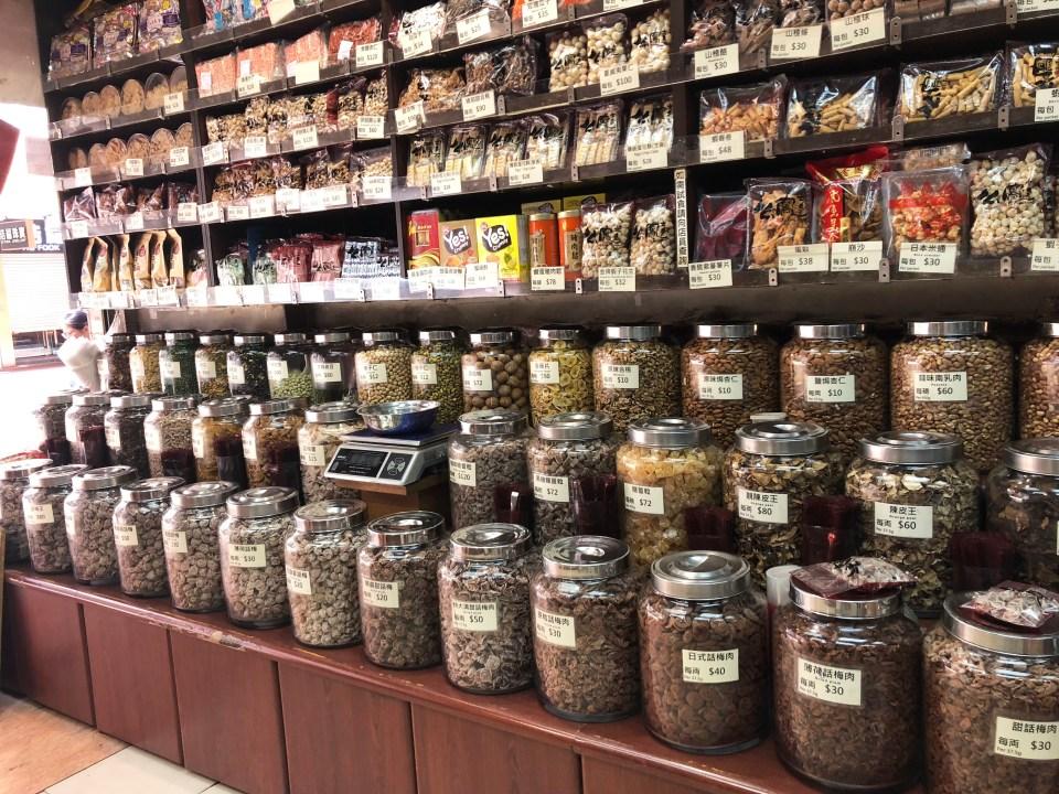 Hong Kong - dry goods