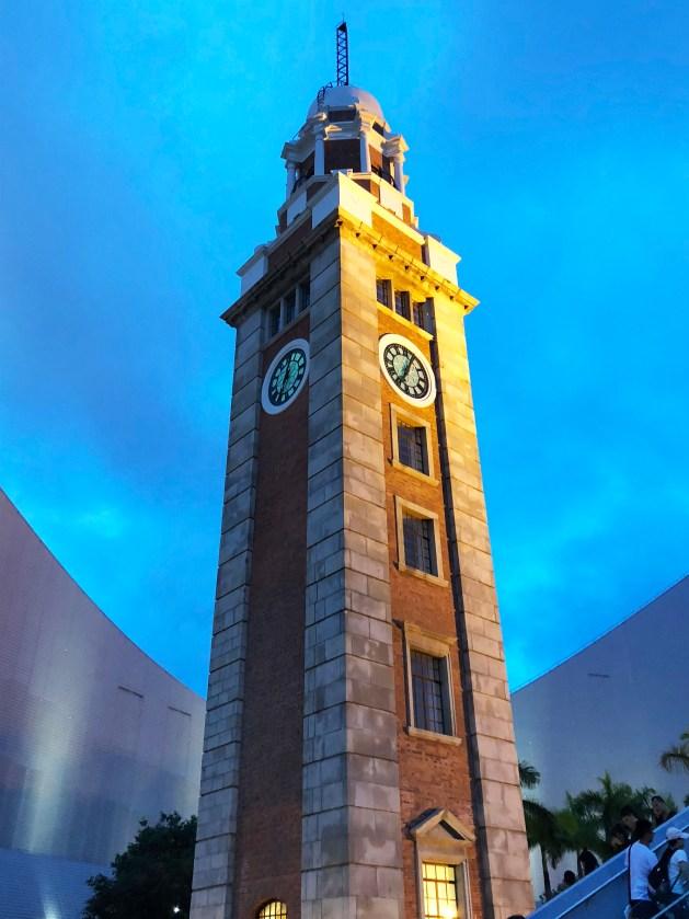 Kowloon - Tsim Sha Tsui clock