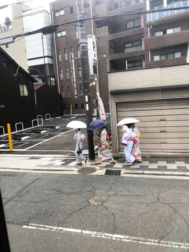 Kyoto - Ladies in Kimonos