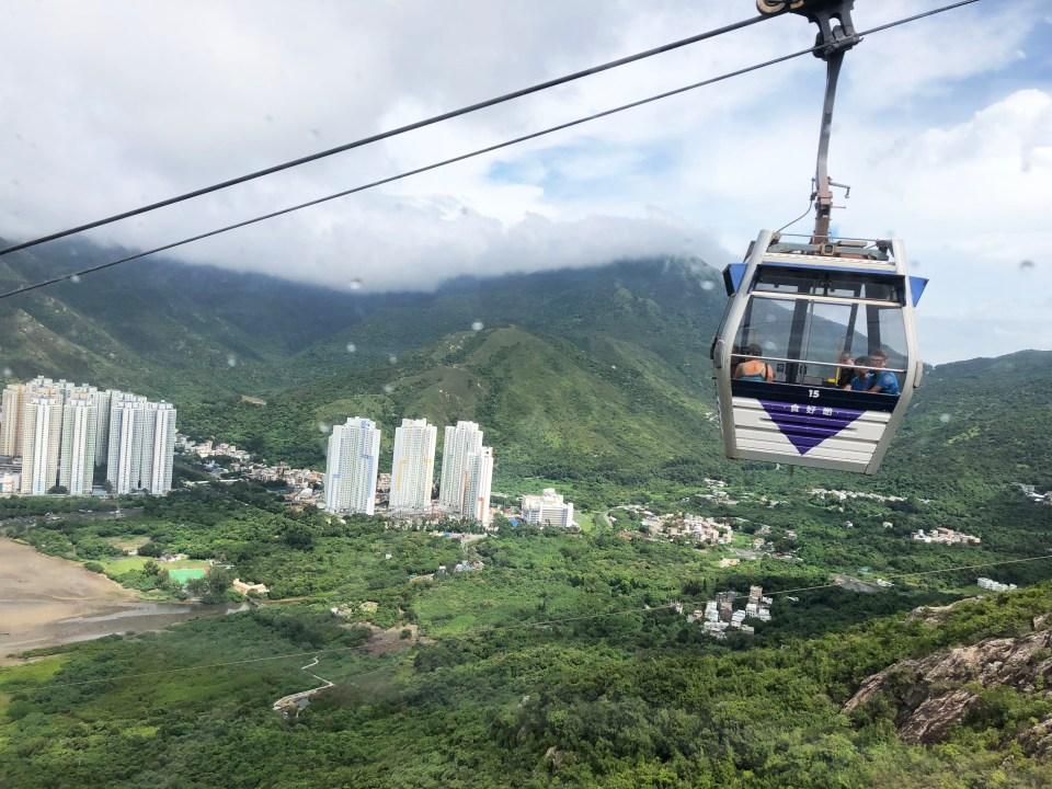 Lantau Island - Gondola 4
