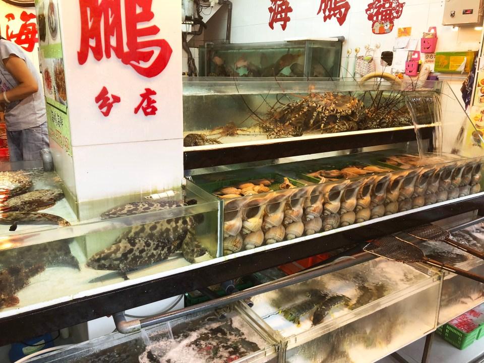Lei Yue Mun - fish market