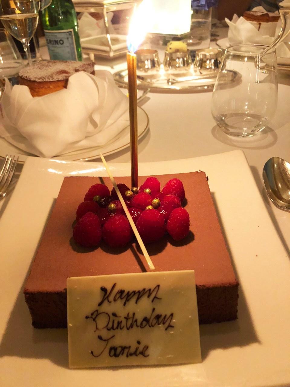 Nicholini's Birthday Dessert
