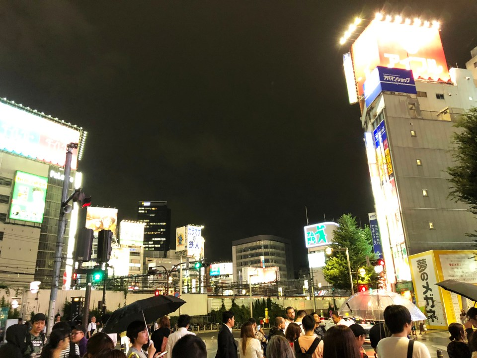 Shinjuku - night time 2