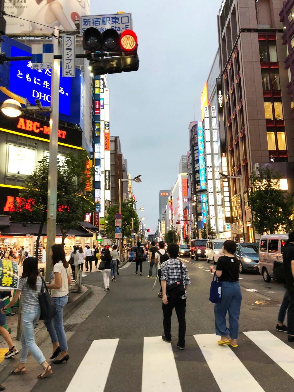Shinjuku - night time 6