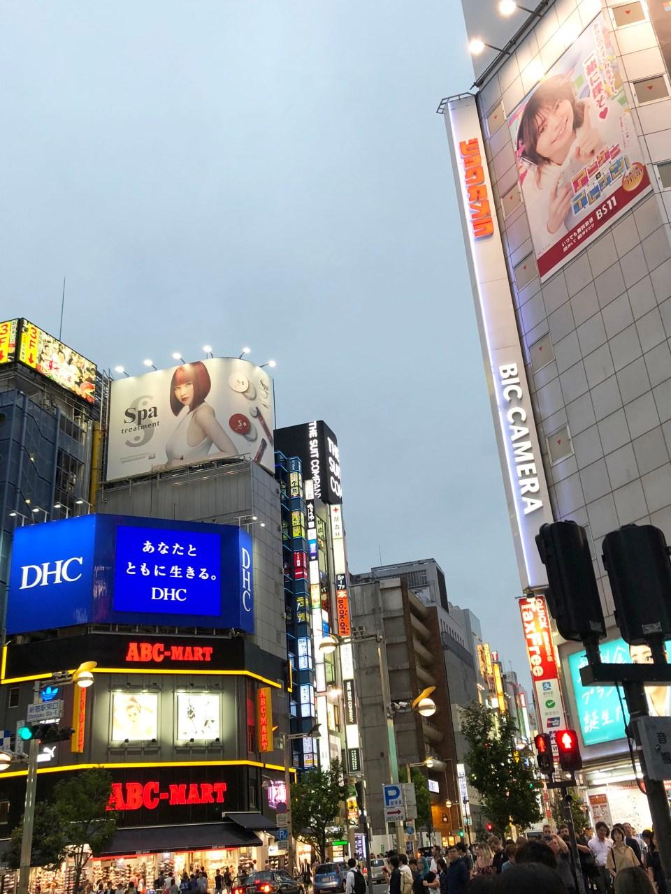 Shinjuku - night time 7