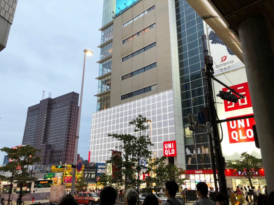 Shinjuku - night time