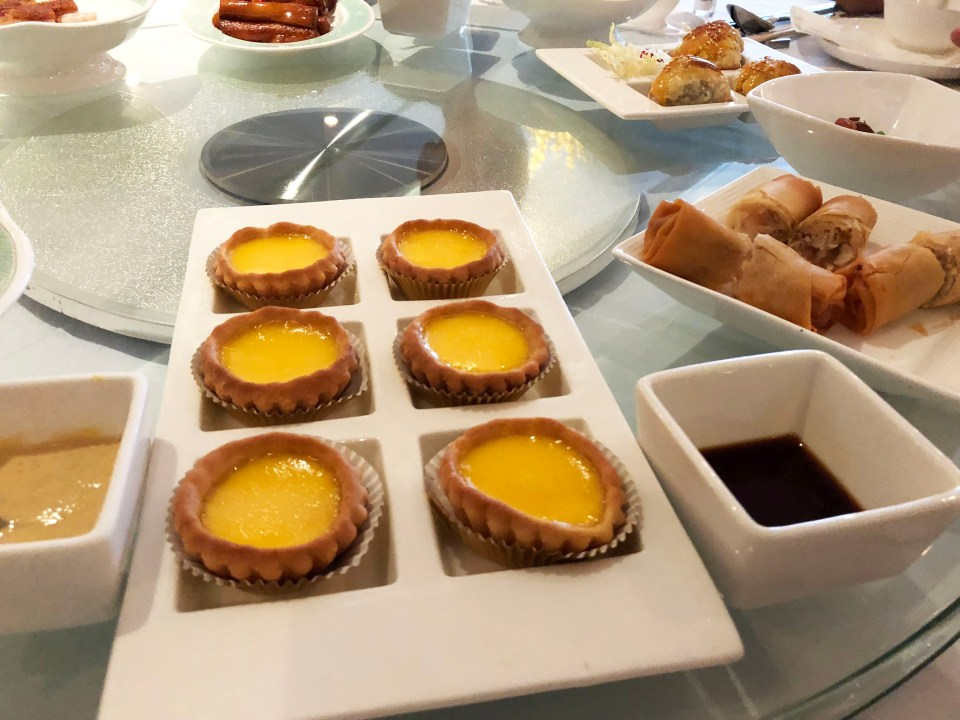 The Square - Egg Tart