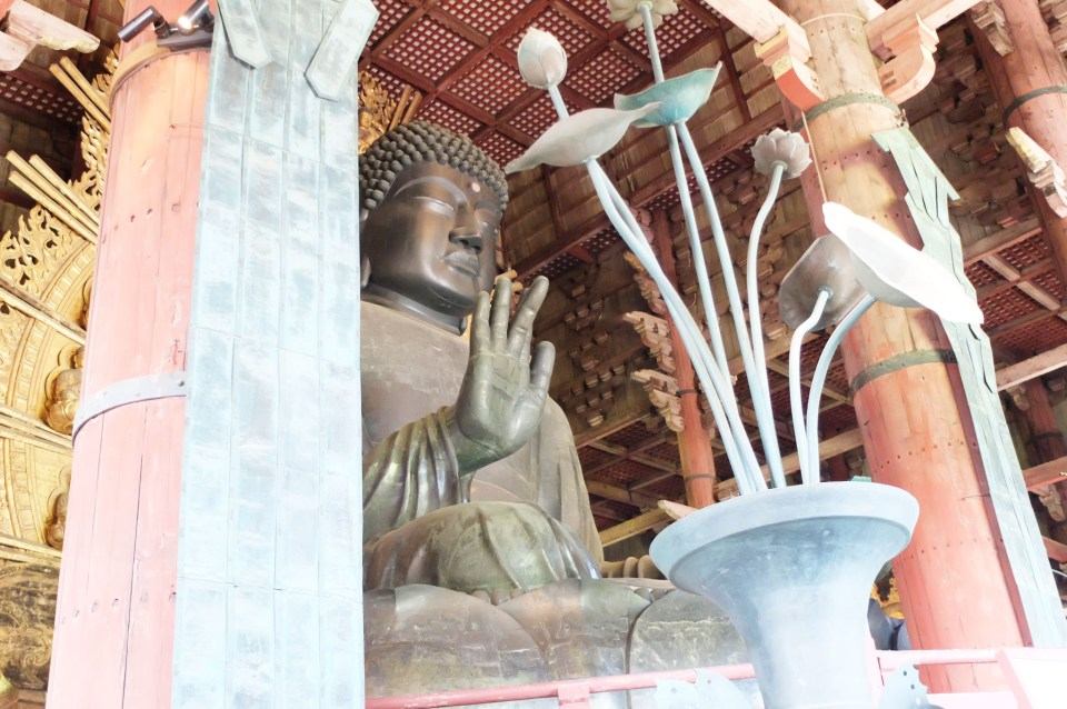 Todai-ji Temple - Buddha 1