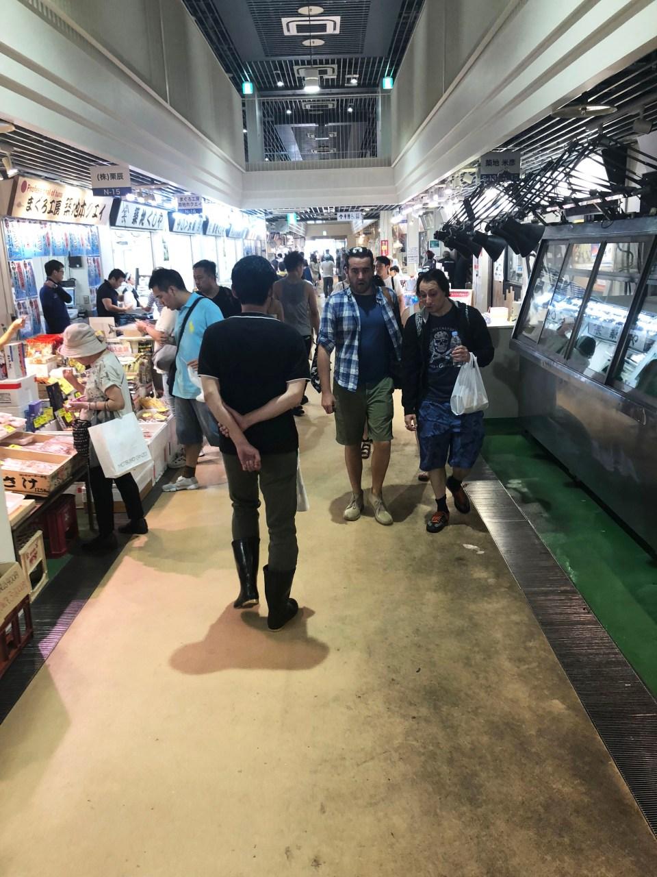 Tsukij Fish Market