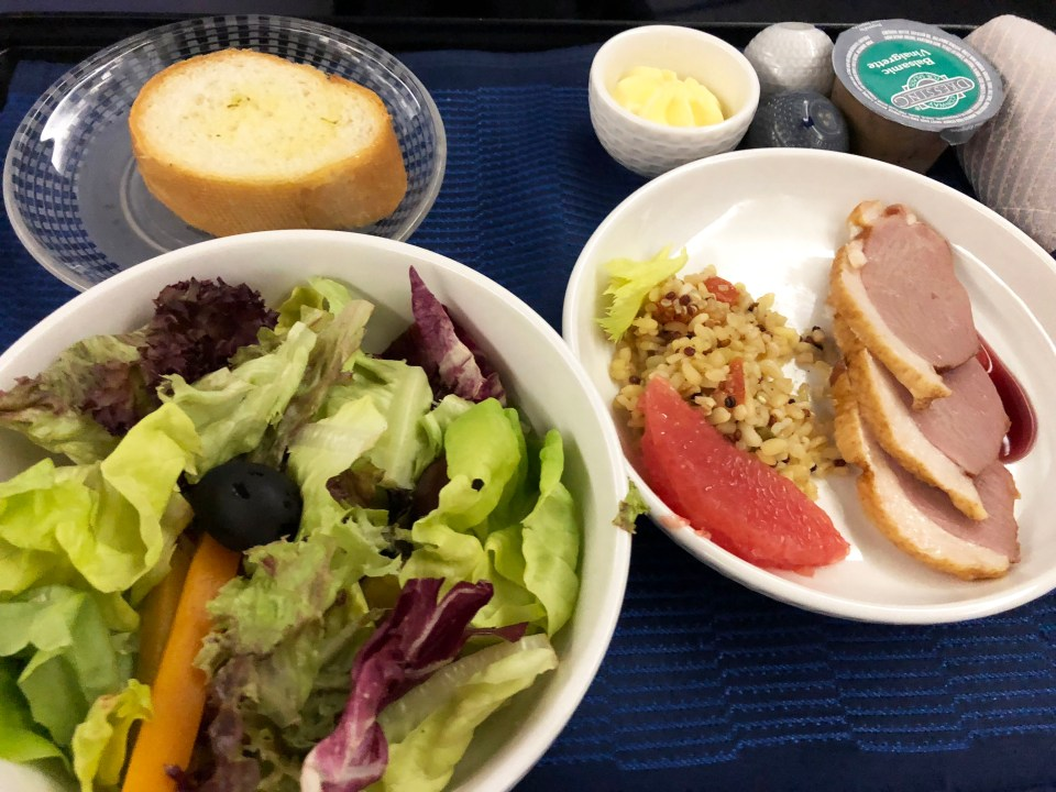 United Airlines - appetizer