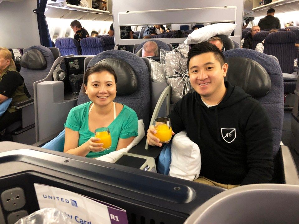 United Airlines - business class 1