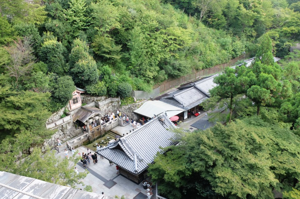 View from Kiyomizu Temple 1