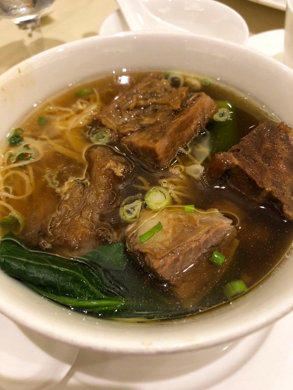 Yung Kee - Soup Noodle + Beef Brisket